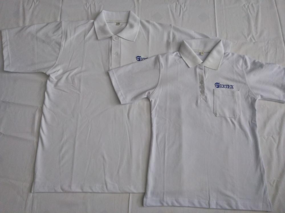 Xưởng may áo thun trơn trắng - áo thun trơn giá sỉ 15k 1