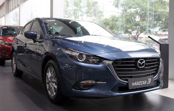 Bảng giá xe Mazda 3 mới nhất