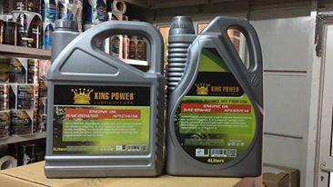 Dầu nhớt ô tô King Power - Dầu nhớt cho ô tô, hàng nhập khẩu 100% từ Ả Rập