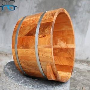 Chậu gỗ ngâm chân giá rẻ, đảm bảo uy tín, chất lượng - CSSX Phạm Gia, Đọi Sơn, Hà Nam