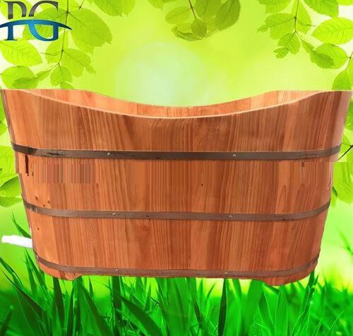 Bán bồn tắm gỗ thông nhập khẩu - Cơ sở sản xuất Phạm Gia tại Đọi Tam, Đọi Sơn, Hà Nam