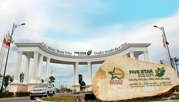 Quy mô dự án Five Star Eco City(6)