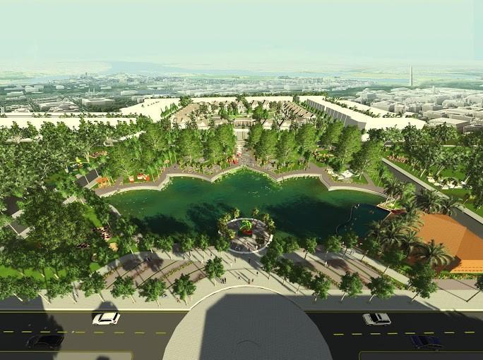 Quy mô dự án Five Star Eco City(7)