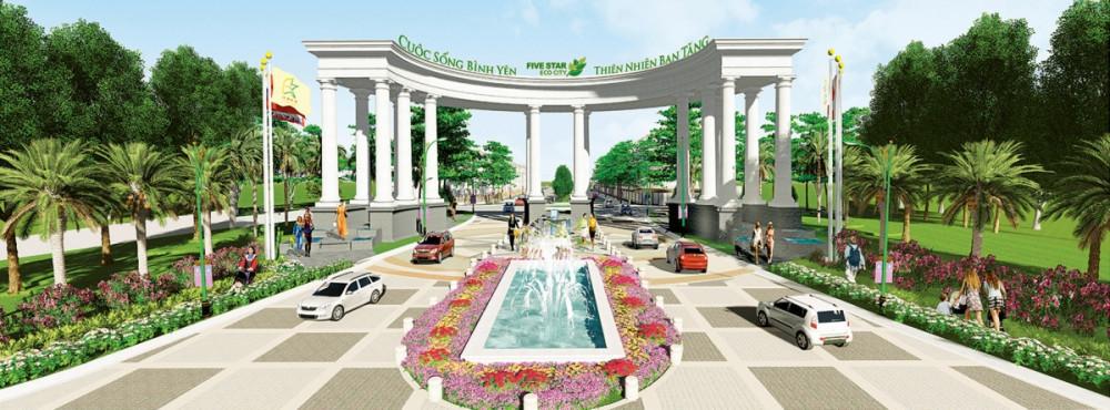 Quy mô dự án Five Star Eco City(10)
