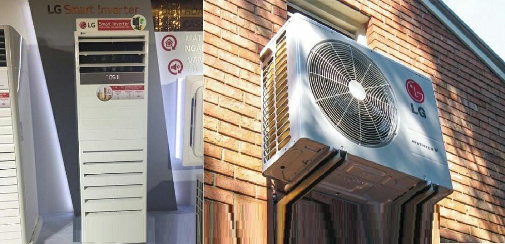 Công ty TNHH Đầu Tư TM DV Ánh Sao kinh doanh máy lạnh tủ đứng LG APUQ30GR5A3/APNQ30GR5A3 (3Hp, Inverter)