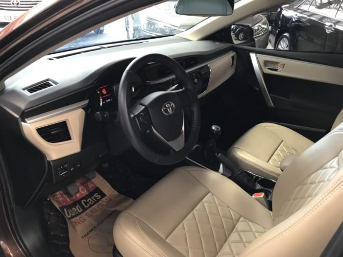Thông tin xe Toyota Altis 1.8 số sàn 2014