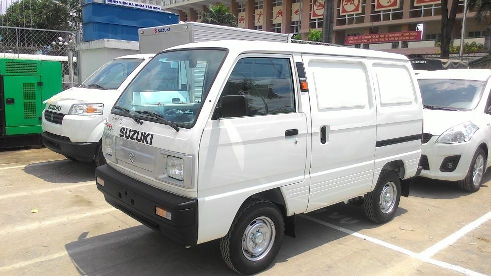 3 lý do nên chọn mua xe tải Suzuki Blind Van để kinh doanh