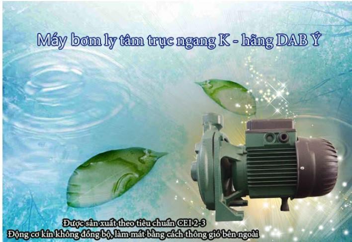Sự khác nhau của máy bơm tự mồi mồi tự hút và bơm ly tâm thông thường(1)
