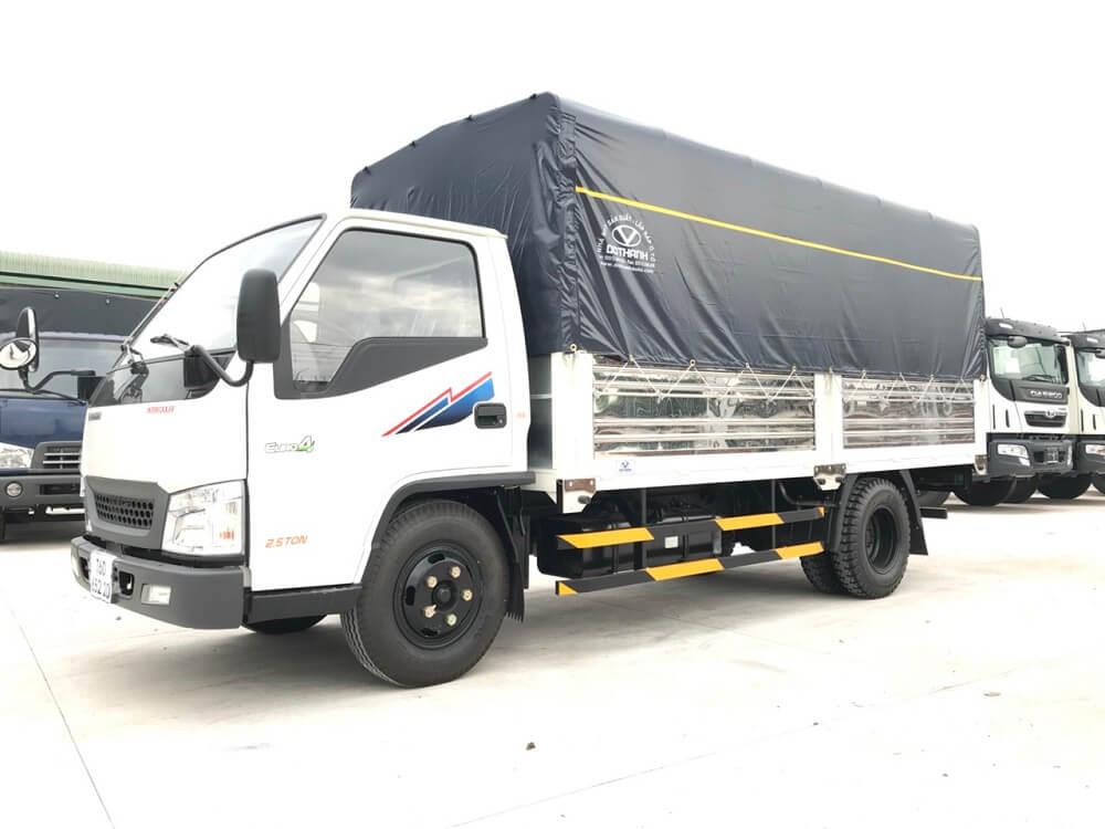xe tải IZ49 thùng bạt