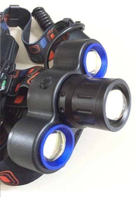 Đánh giá đèn pin siêu sáng đội đầu 3 bóng E65: sản phẩm tiện dụng, thông minh gọn nhẹ