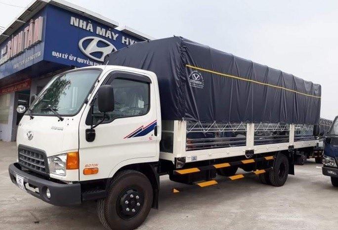 Đánh giá nhanh xe tải Hyundai HD120SL 8 tấn thùng mui bạt