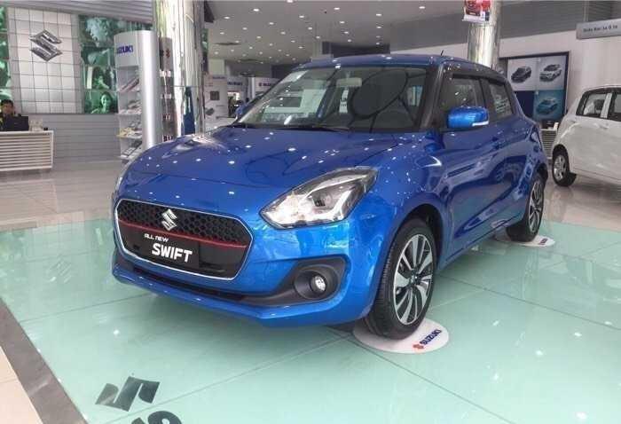 Thông số kỹ thuật Suzuki Swift nhập khẩu từ Thái Lan(1)