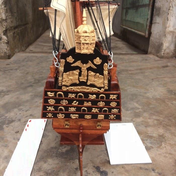 Thuyền cổ đại gỗ hương(1)