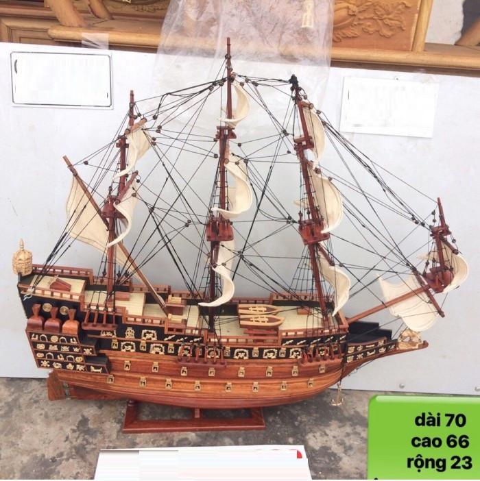 Thuyền cổ đại gỗ hương(2)
