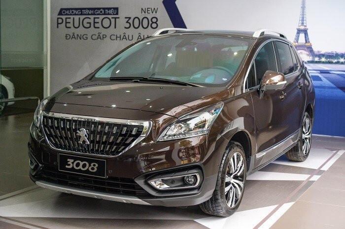 Xe Peugeot 3008 All new - Dòng Suv 5 chỗ đẳng cấp tại Việt Nam