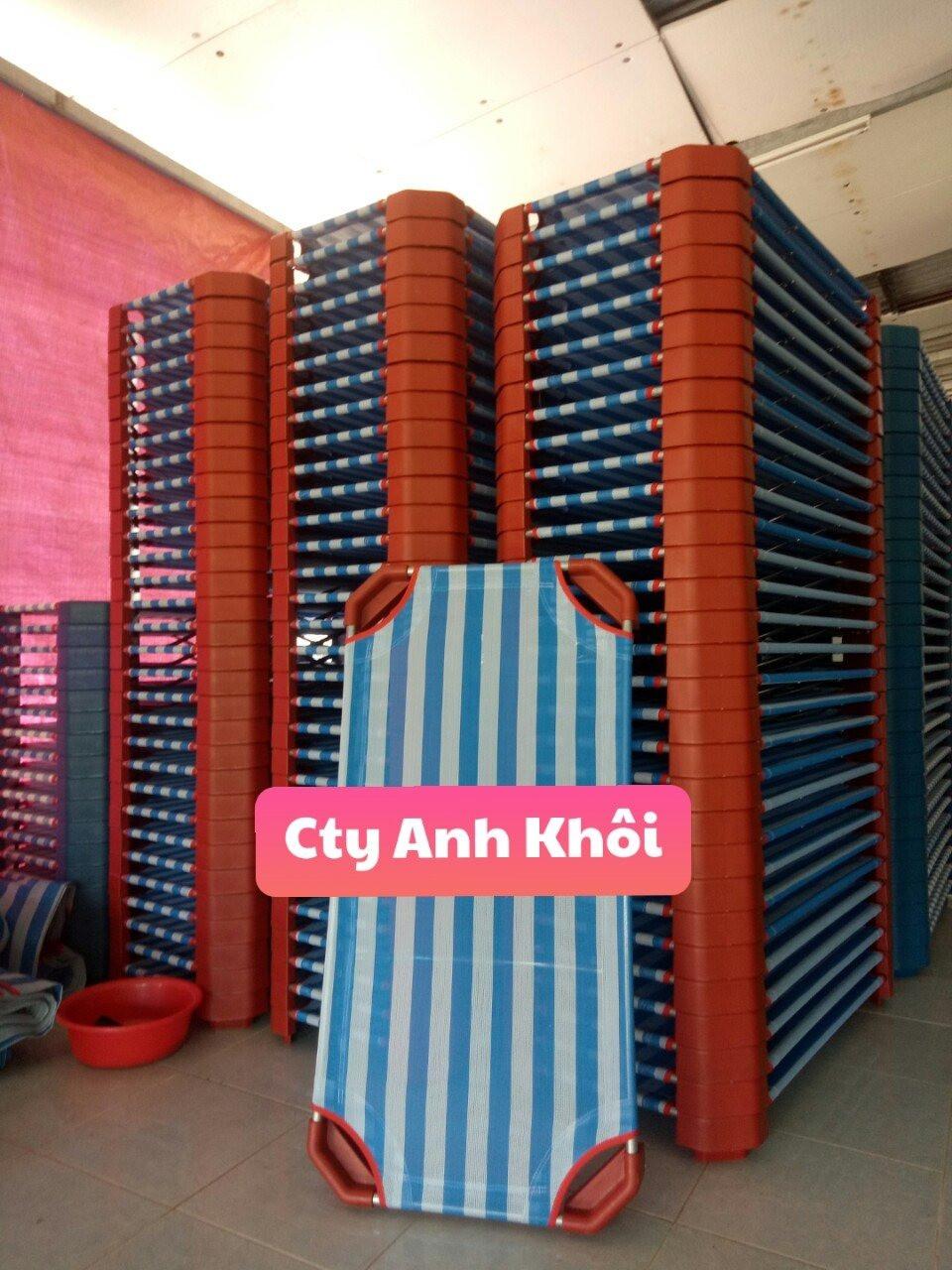 Giường ngủ mầm non mặt vải lưới làm bằng vải lưới nhập ngoại,Khung thép siêu bền .Sản phẩm chuyên dụng cho các trường mầm non giúp bé tránh tiếp xúc trực tiếp với nền gạch, bảo vệ sức khỏe bé. Chuyên dùng cho trẻ,vải lưới thoáng khí, nhanh khô, dễ dàng vệ sinh