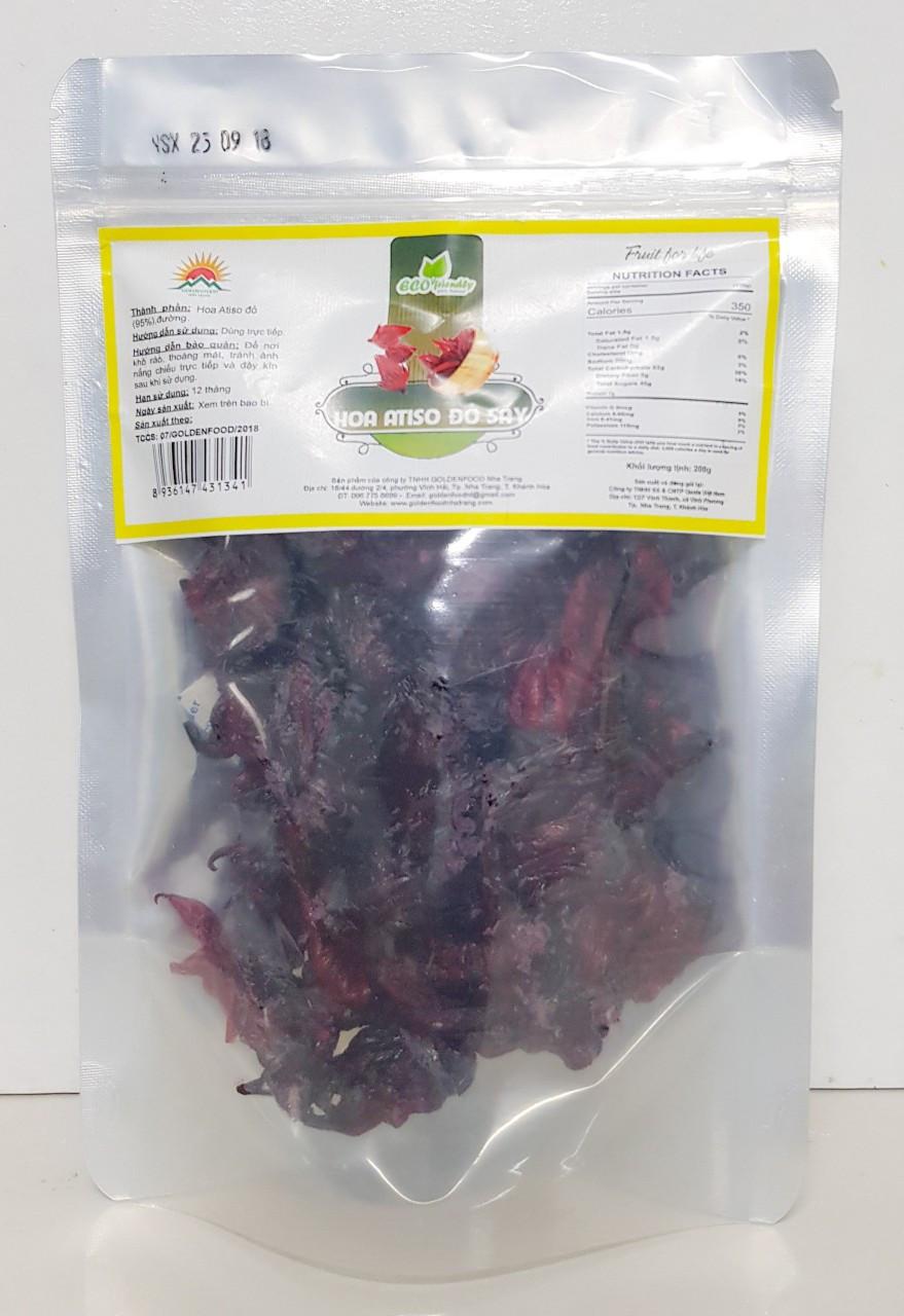 Hoa Atiso đỏ sấy dẻo - Bồi bổ sức khỏe, tăng sức đề kháng