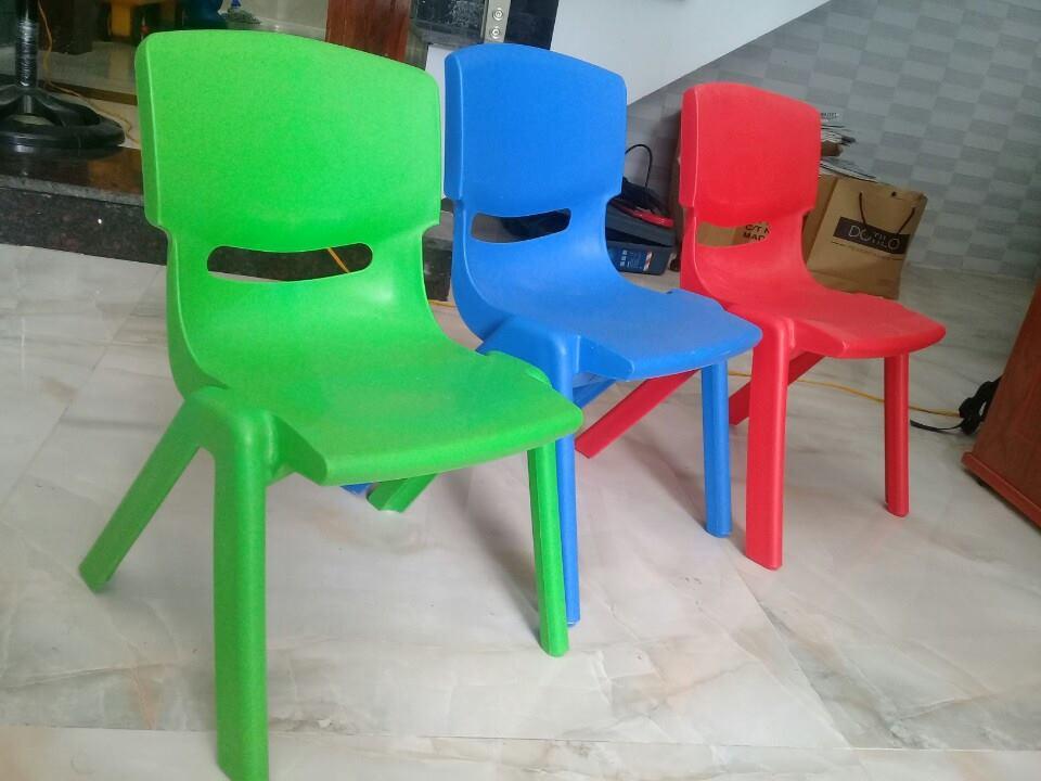 ghế nhựa mầm non