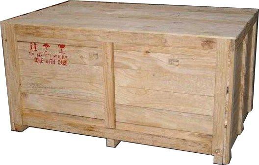 Vai trò của thùng gỗ đóng máy móc khi xuất khẩu