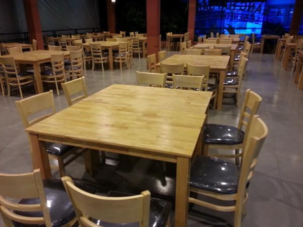 Bí quyết chọn mua bàn ghế nhà hàng quán ăn đẹp, giá rẻ
