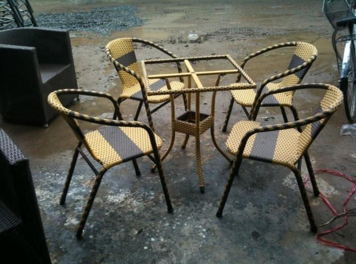 4 Tiêu chí xác định bàn ghế nhựa mây chất lượng tốt