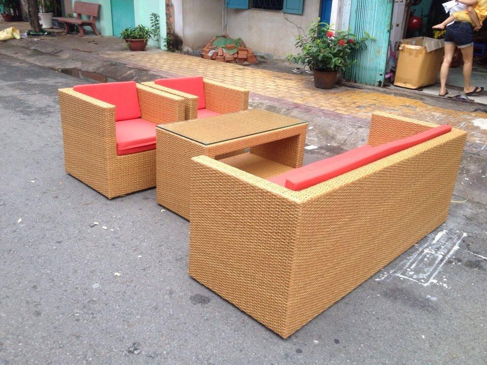 Kinh nghiệm chọn mua bàn ghế sofa giả mây chất lượng cao