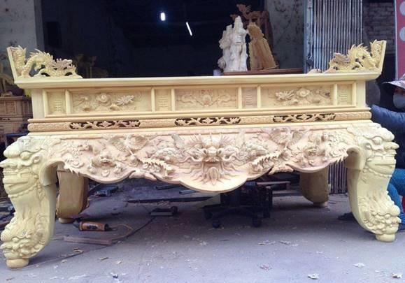 Tư vấn mua sập thờ gỗ mít tại Nam Định