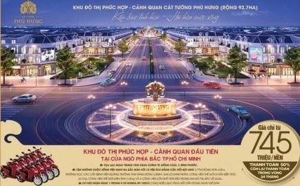 Bất động sản thành phố Đồng Xoài hút giới đầu tư chất lượng cao