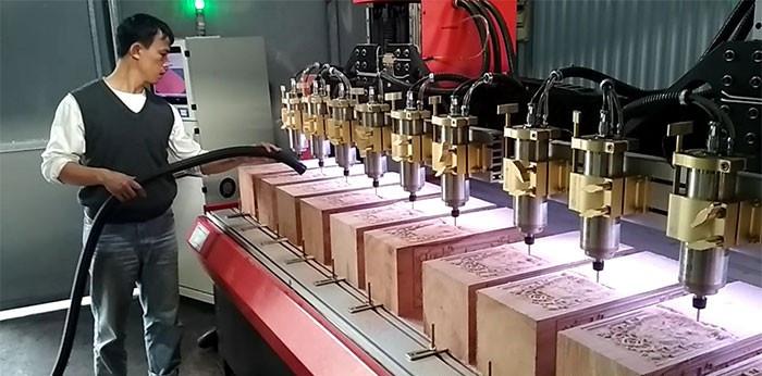 Khám phá sản phẩm máy khắc gỗ đến từ Đông Phương Hà Nội