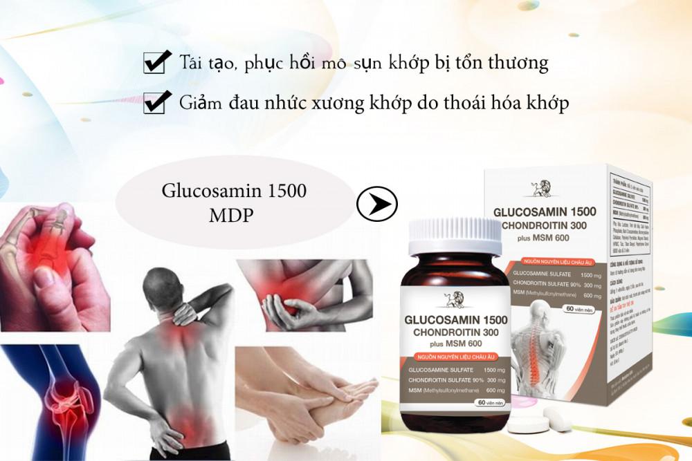 Glucosamin hỗ trợ trị bệnh xương khớp dùng được cho người đau dạ dày không?