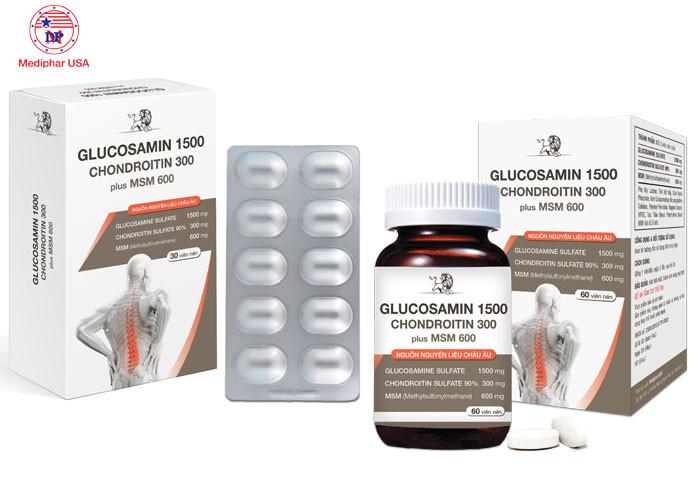 Tác dụng Glucosamin và Chondroitin cho người bệnh xương khớp có gì khác nhau?