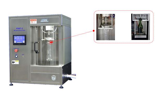 Máy kiểm tra lực & áp suất phá vỡ chai nhựa (PET) hoặc chai thủy tinh