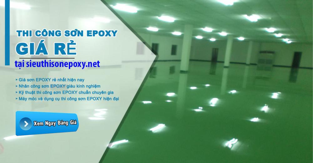 Báo giá và hướng dẫn thi công sơn epoxy chuyên nghiệp