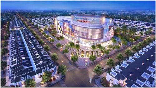 2 trung tâm thương mại quy mô hơn 4,2 ha đáp ứng nhu cầu cuộc sống của các cư dân Cát Tường Phú Hưng.