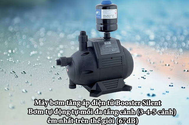 Bài toán giải quyết hệ thống cấp nước yếu với máy bơm tăng áp