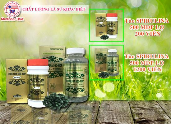 công dụng tảo Spirulina