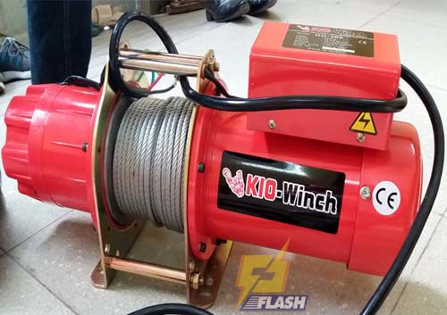tời điện Kio Winch 100kg 200kg 300kg