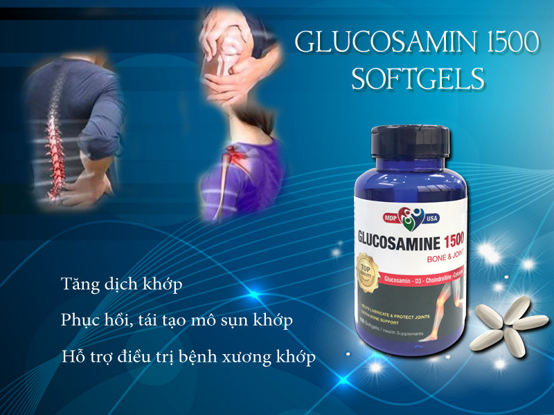 Khô dịch khớp thì dùng Glucosamin được không ?
