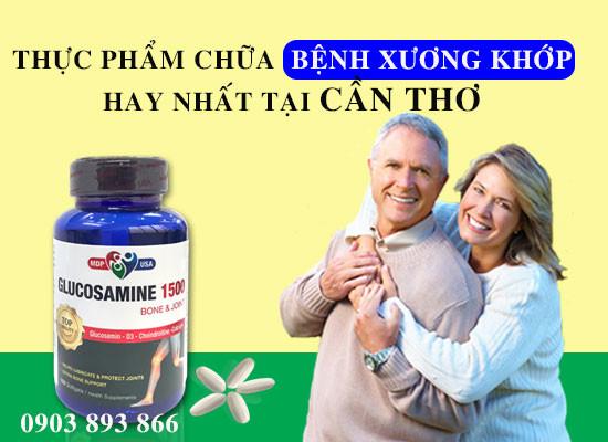 Glucosamine 1500 - Thực Phẩm Chữa Bệnh Xương Khớp Hay Nhất Tại Vĩnh Long