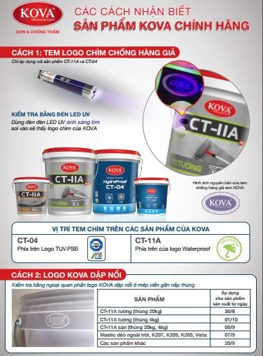 Sơn chống thấm Kova CT11A mua ở đâu giá rẻ ?