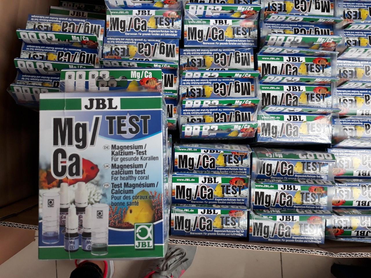 Hướng dẫn sử dụng hộp test Mg và Ca