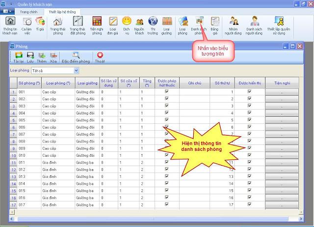 Hướng dẫn sử dụng hệ thống quản lý khách sạn PMS - P1