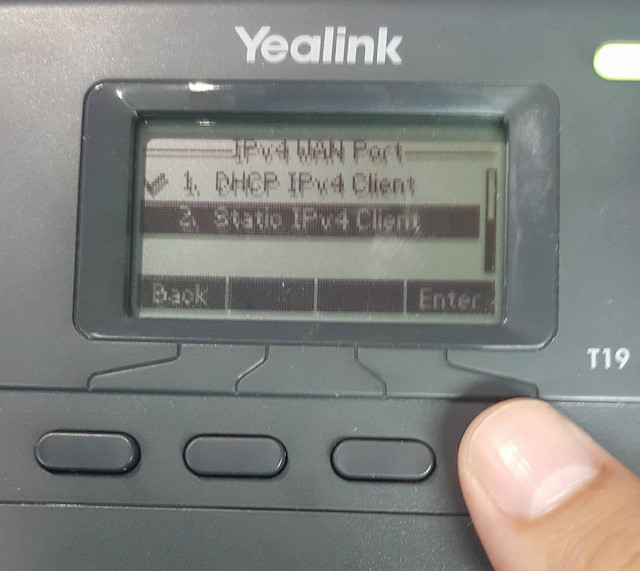 Hướng dẫn cấu hình IP tĩnh cho điện thoại Yealink