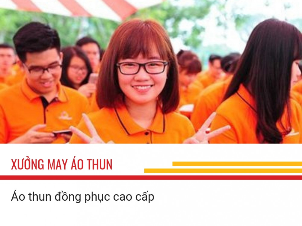 Tại sao nên may áo thun đồng phục cao cấp tại đồng phục Việt Tường