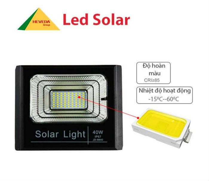 Đèn LED năng lượng mặt trời so với các loại đèn thông thường