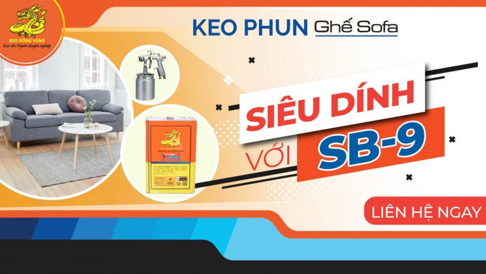 Keo Phun Rồng Vàng SB-9 chuyên dùng cho thi công ghế sofa(1)