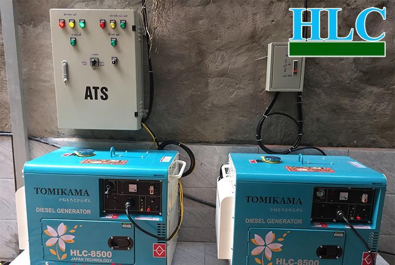 Thông số máy phát điện Tomikama công suất đủ thương hiệu Nhật Bản