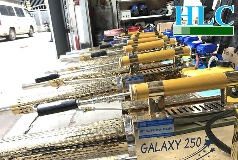Giới thiệu máy phun khói diệt côn trùng hai chức năng Galaxy 250