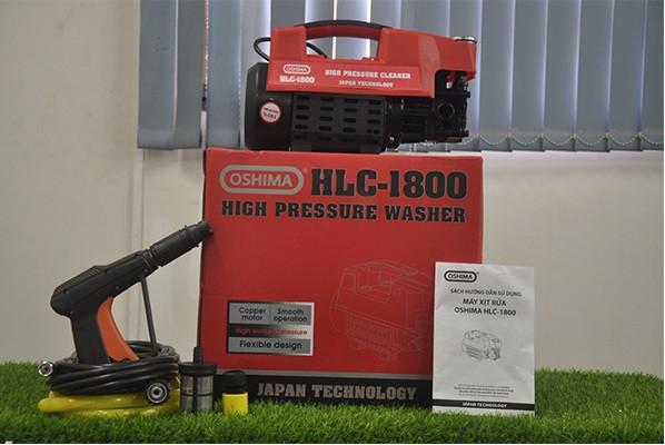 Cùng nhau tìm hiểu máy rửa xe Oshima HLC 1800 tại HLC nhé