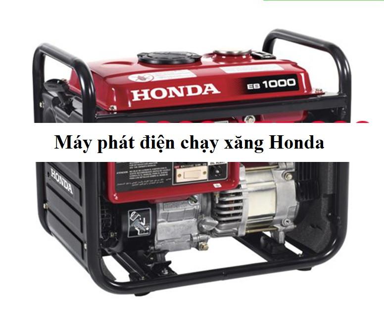Máy phát điện chạy xăng Honda dùng cho gia đình, công ty, văn phòng